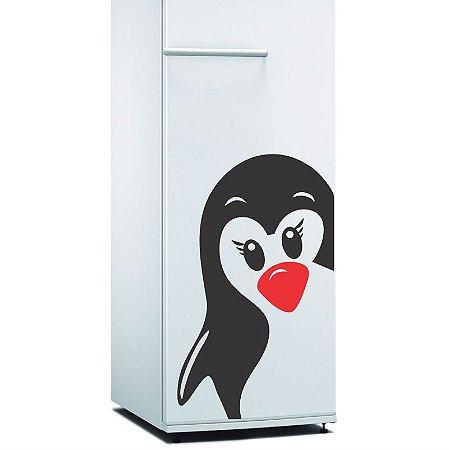 Adesivo Pinguim Ice