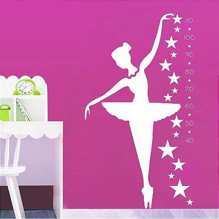 Adesivo Bailarina Métrica