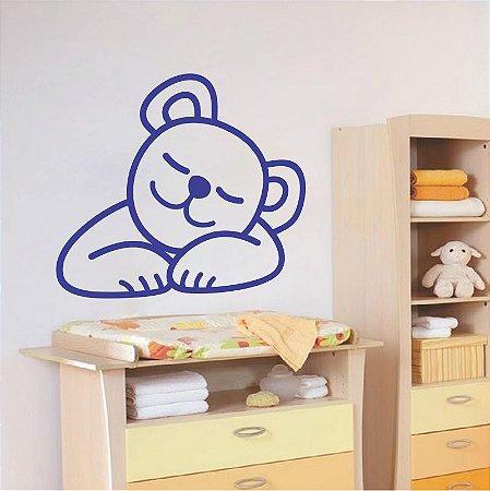 Adesivo Urso Dormindo