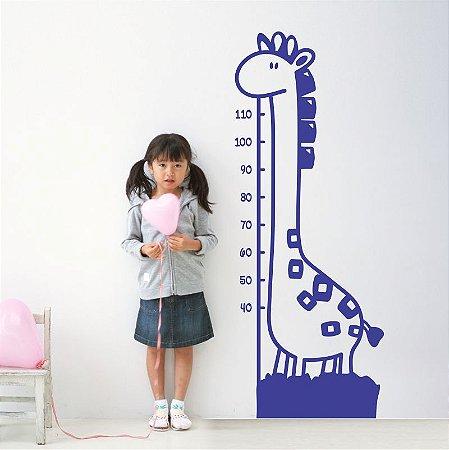 Adesivo Girafa Métrica