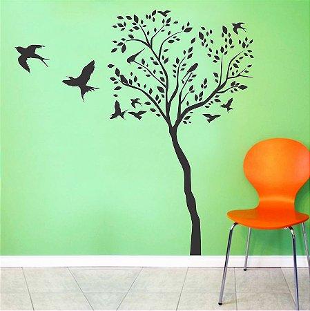 Adesivo Árvore Birds