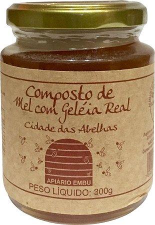 Compostos de Mel com Geleia Real 300gr