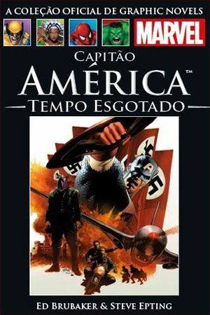 Capitão América - Tempo Esgotado - Salvat - Capa Dura