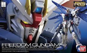 Freedom ZGMF -X10A - Gundam - RG - Escala 1/144 - Model Kit - Bandai