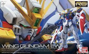 Wing Gundam EW XXXG-01W - Gundam - RG - Escala 1/144 - Model Kit - Bandai