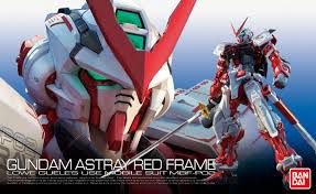 Bandai Gundam RG Astray Red Frame MBF-P02 Escala 1/144  Model Kit