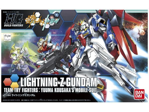 Gundam Buid Fighters Try Lightning-Z-Gundam  HGBF  1/144 Bandai