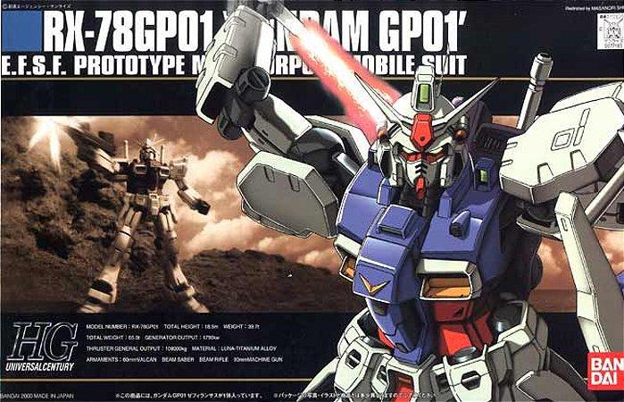RX-78GP01 - Gundam - HG - Escala 1/144 - Model Kit - Bandai