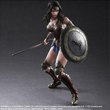 Wonder Woman (Mulher Maravilha) - Batman Vs Superman - A Origem da Justiça - Play Arts Kai - Square Enix