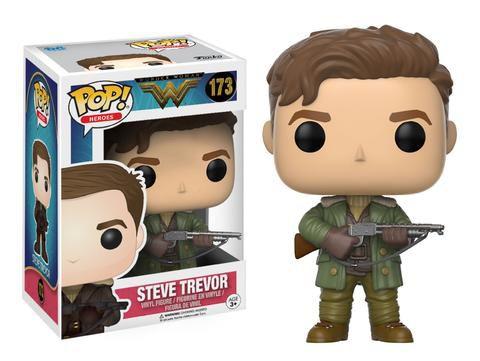 Steve Trevor - Wonder Woman (Mulher Maravilha) - Funko Pop!