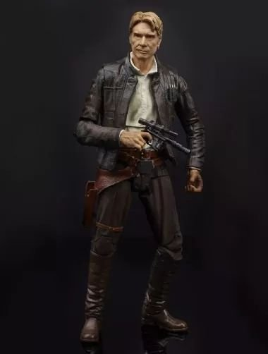 Hasbro Star Wars Black Series Han Solo Figure