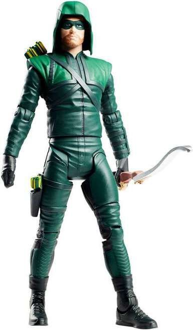 Mattel Dc Comics Multiverse Arrow (Arqueiro Verde) Justice Buster