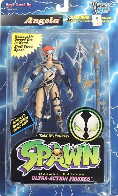 McFarlane Toys Spawn Angela Deluxe Edition