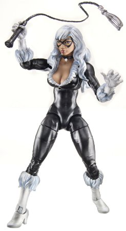 Hasbro Marvel Legends Black Cat (Gata Negra) Infinity Series BAF Green Goblin