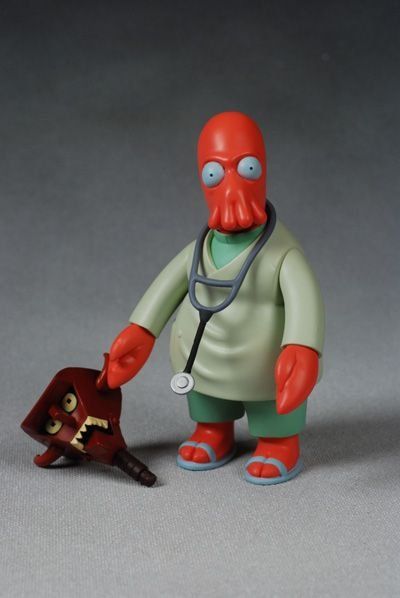 Toynami Futurama Dr. Zoidberg BAF Diabo Robô