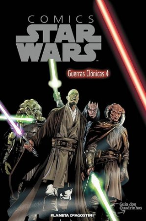 Star Wars – Guerras Clonicas 4 – Planeta Deagostini – Capa Dura