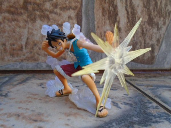 Bandai One Piece Attack Motions Luffy Gear Second