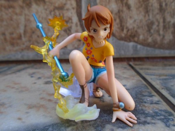 Bandai Gashapon Attack Motions Nami