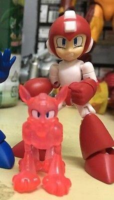 Rockman (Mega Man) e Rush  - 66 Action Dash - Secreto - BANDAI