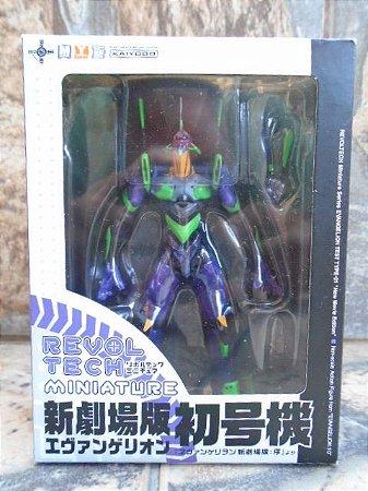 Kaiyodo Revoltech Miniature Evangelion Eva 01 Vers. Clear (Transparente)