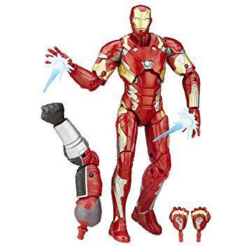 Iron Man (Homem de Ferro) - Civil War - Legends Series - BAF Gigante - Marvel Legends - Hasbro