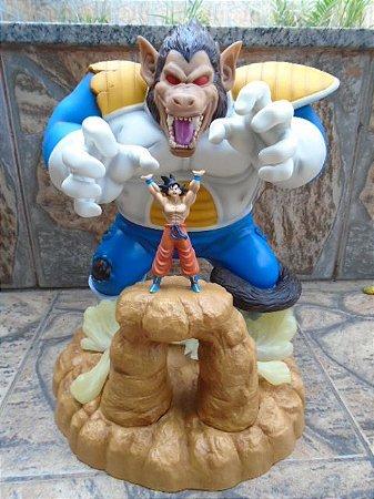 Banpresto Ichiban Kuji Dragon Ball Z Vegeta Oozaru vs Goku Loose