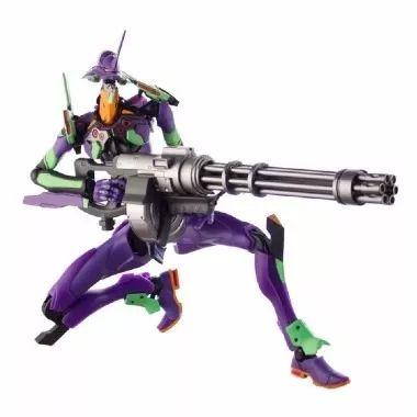 Banpresto S.C.M.EX Evangelion Eva 01 Com gatling Gun