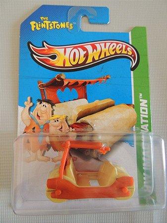 Hot Wheels Carro Flintstones Modelo 1