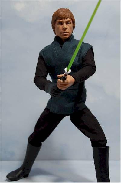 Luke Roupa Preta – Star Wars - Retorno de Jedi – Edição Limitada - Escala 1/6 - Sideshow