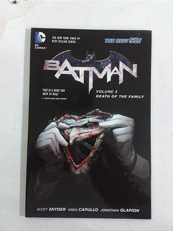 Batman Death Of The Family - Encadernado Importado - Capa Dura - DC Comics