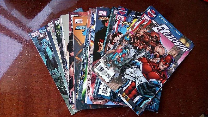 New Excalibur # 1 Ao # 24 - Importada - X-men - Marvel Comics