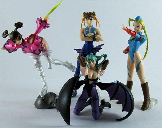Bandai HGIF Capcom Gals Collection Set com 04 Gashapon