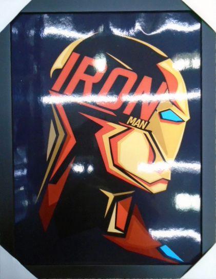 Iron-Man - Homem de Ferro - Quadro - Marvel