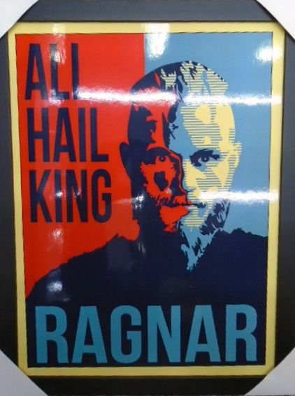 Vikings- All Hail King Ragnar - Quadro