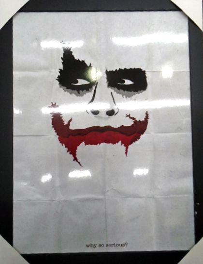 Joker - Coringa - Batman The Dark Knigth - Quadro