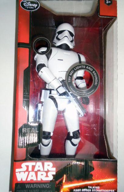 Hasbro Star Wars The Force Awakens First Order Storm Trooper Eletrônico Som e Luz