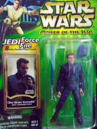 Obi-Wan Kenobi - Star Wars - Power of The Jedi - Kenner