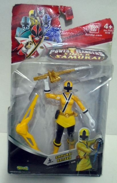 Samurai Ranger Amarela - Power Rangers Super Samurai - BANDAI