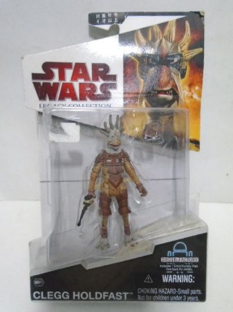 Hasbro Star Wars Legacy Collection Clegg Holdfast