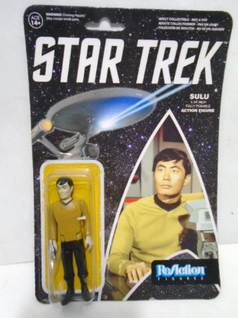 Sulu - Star Trek - Reaction Figures - Funko