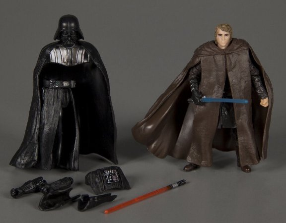 Hasbro Star Wars Revenge of Sith Anakin / Darth Vader  Figura 2 em 1