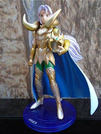 Mú de Áries - Cavaleiros do Zodíaco - Agaruma - BANDAI