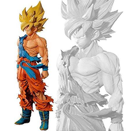 Banpresto Dragon Ball Z Super Masters Stars Piece The  Brush A Son Goku