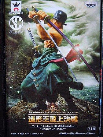 One Piece - Roronoa Zoro - Figure Colosseum - SCultures - BIG- Special - Banpresto