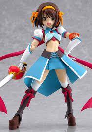 Suzumiya Haruhi - Suzumiya Haruhi no Tomadoi - SP - 001 - PS2 - Figma - Max Factory