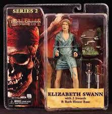 Neca Piratas do Caribe O Fim do Mundo Elizabeth Swann Series 2