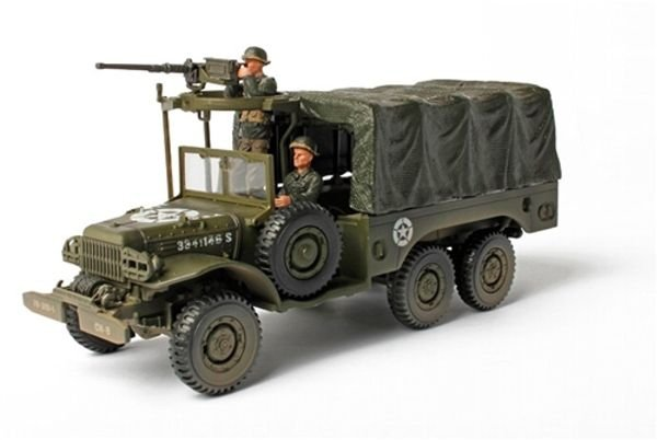 Cargo Truck U.S Army -  6X6 1.5 Ton - Europe, 1945 - Forces of Valor - Escala 1/32 - Die Cast - California Toys