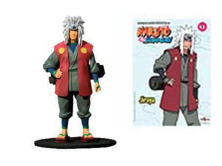 Jiraiya - Naruto Shippuden - Planeta DeAgostini