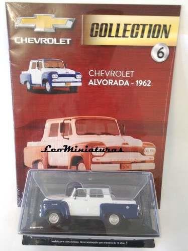 Chevrolet Alvorada - 1962 - Chevrolet Collection #06 - Escala 1/43 - Salvat