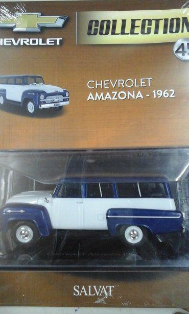 Chevrolet Amazona - 1962 - Chevrolet Collection #45 - Escala 1/43 - Salvat